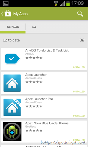 New Google Play store design   4