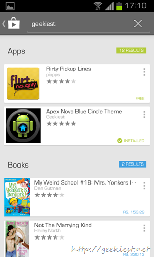 New Google Play store design   5