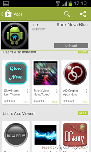 New Google Play store design   8