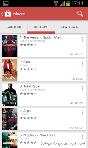 New Google Play store design   9