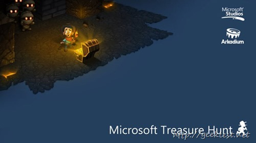 New game from Microsoft - Microsoft Treasure Hunt