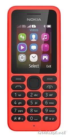 Nokia 130 Dual SIM Bright Red