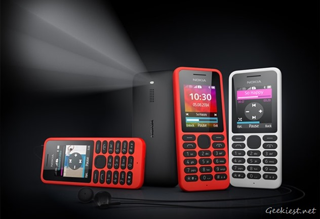 Nokia 130 Flashlight