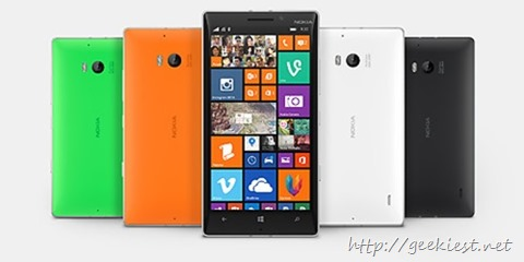 Nokia Lumia 930 Available in UK