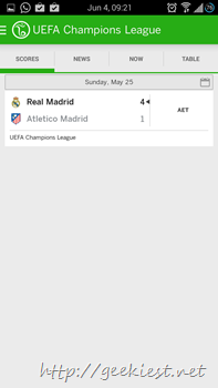 Official ESPN Football application for Android 13