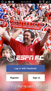 Official ESPN Football application for Android 1