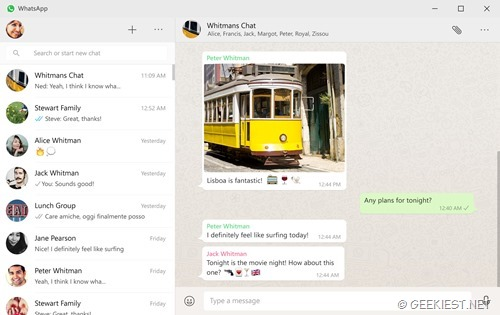 Official WhatsApp Desktop application for Windows and Mac