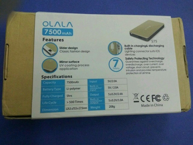 Olala Powerbank review 9