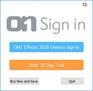 On1 Effects 2018 free license