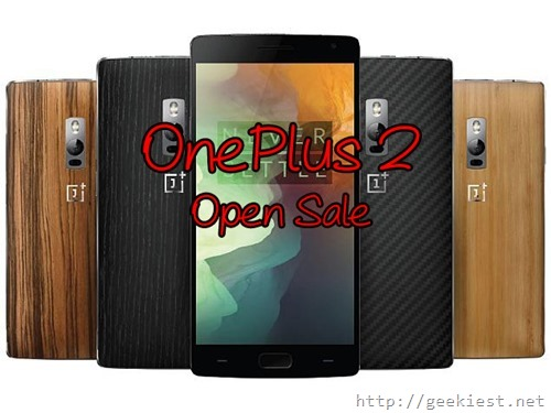 OnePlus 2 - Open Sale