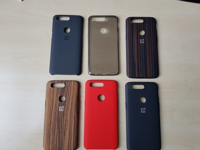 OnePlus 5T leaked real-life photos cases covers 2