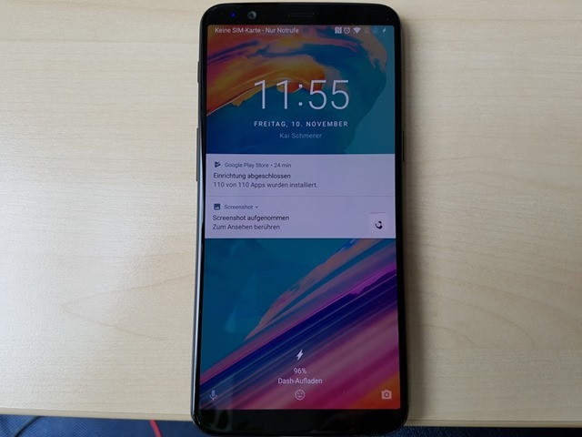 OnePlus 5T leaked real-life photos wallpaper
