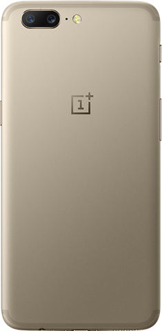 OnePlus 5 Soft Gold Limited Edition rear