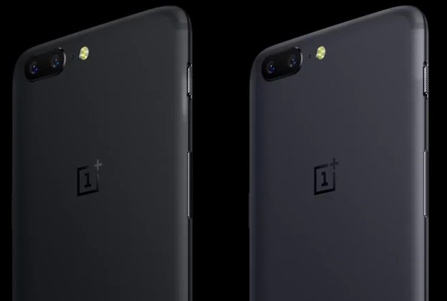 OnePlus 5 colours