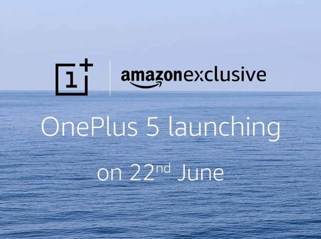OnePlus 5 launch India Amazon