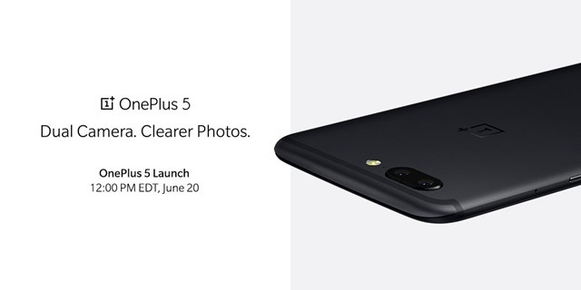 OnePlus 5 official press render
