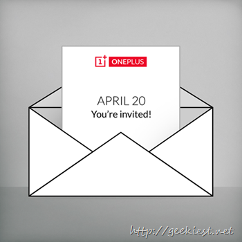 OnePlus April 20 announcement
