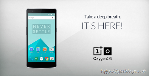 OnePlus One–Lollipop Oxygen OS