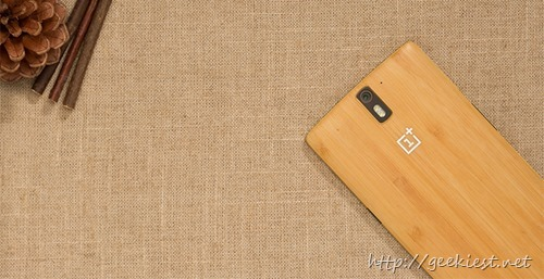 OnePlus One Bamboo Style Swap cover will be available on India today
