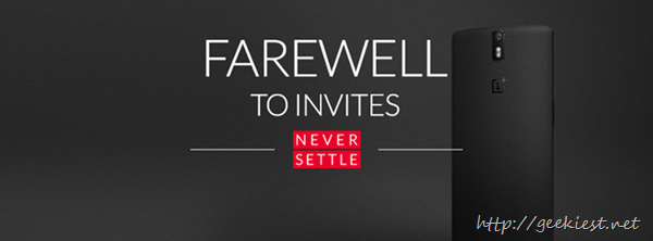 OnePlus One invitation