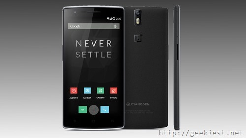 OnePlus One smartphones delivered to you in 60 minutes