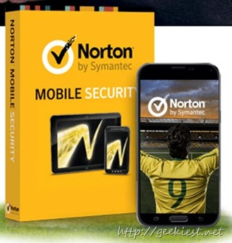 One year Free trial of Norton Mobile Security