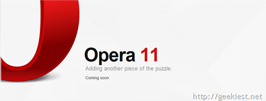 Opera to get Extensions from version 11