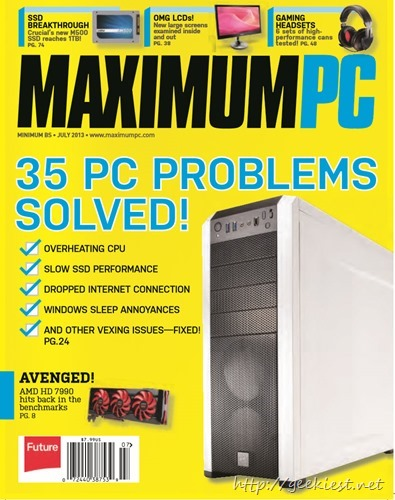35 PC problems Solved - PC magazine July 2013