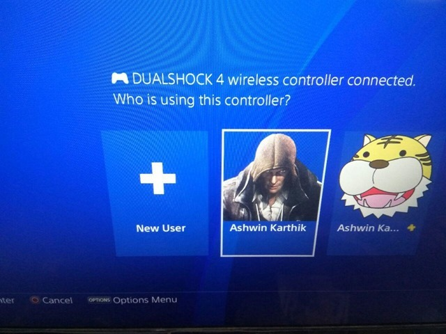 PS4 New User