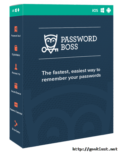 Password Boss Premium license giveaway
