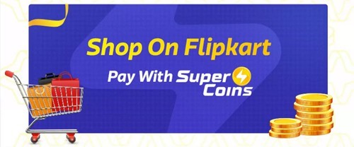 Pay with Flipkart super coins