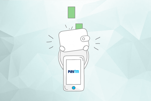 Paytm Allows to add money to wallet with UPI