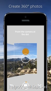Photo Sphere Camera for iOS from Google