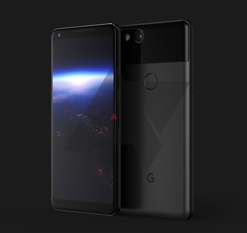 Pixel 2 XL render leaked
