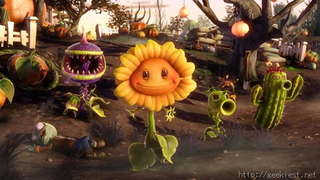 Plants vs Zombies Garden Warfare Xbox