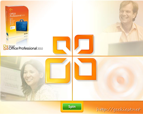 Play And Win Free Microsoft Office 2010