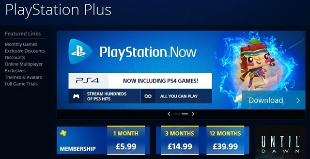 PlayStation Plus with PS Now
