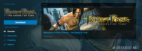 Prince of persia the sand of time giveaway
