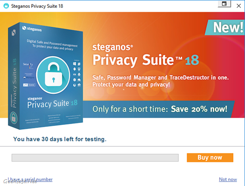 Privacy Suite 18 30 days Free trial