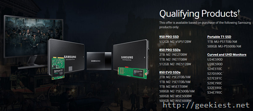 Qualifying Samsung product for FREE assasins creed syndicate