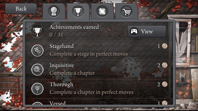 Quell Memento Plus Achievements