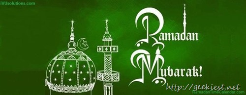 Ramadan Kareem–Facebook Cover Photo 01