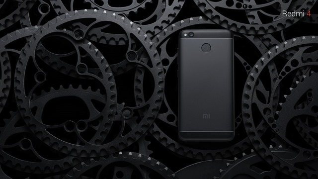 Redmi 4 black