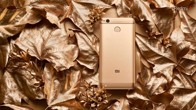 Redmi 4 gold