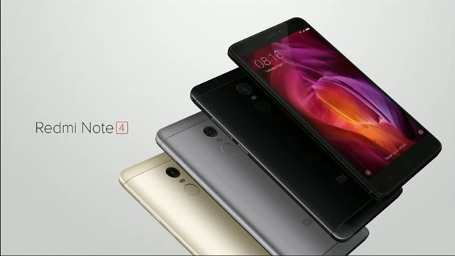 Redmi Note 4 colors