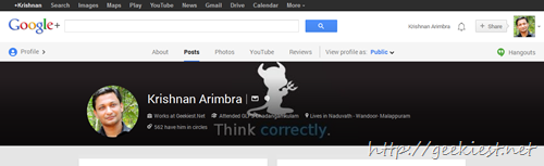 Reduce the Google Plus cover photo height
