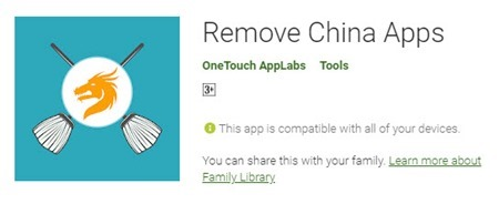 Remove China Apps Crosses One million downloads