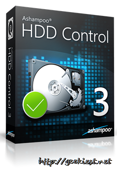 Review and Giveaway - Ashampoo HDD Control 3