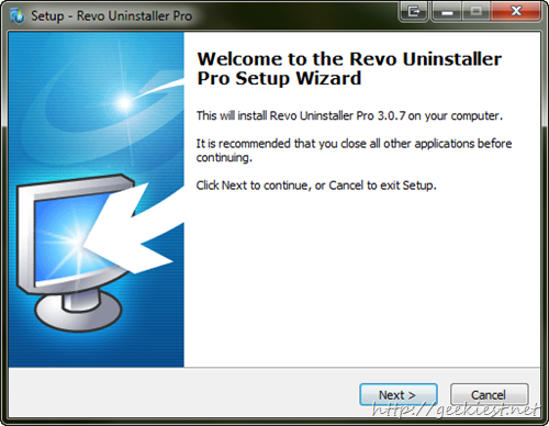 Revo uninstaller installation