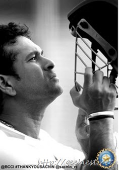 Sachin Tendulkar digitally autographed photo 9